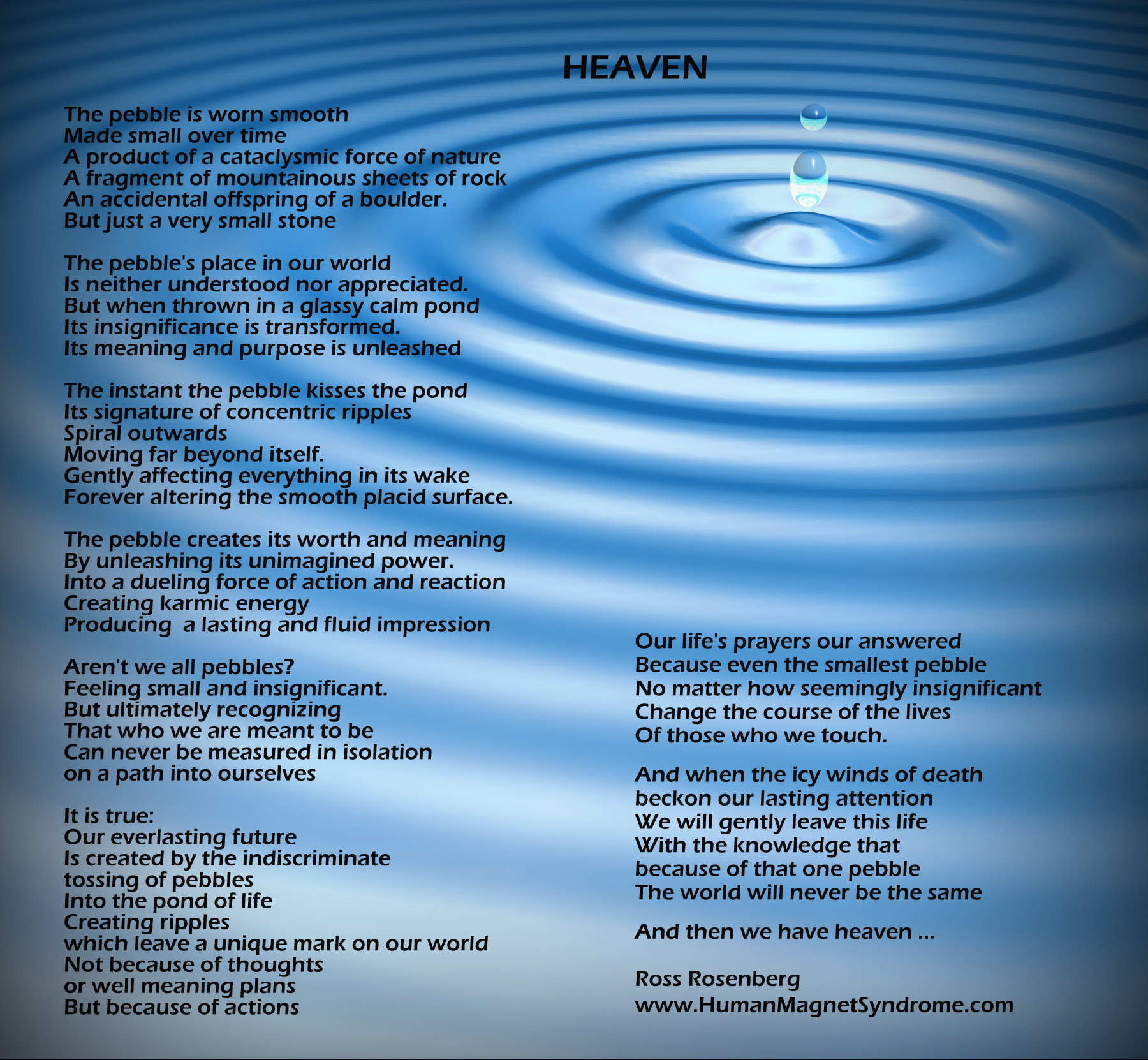 Poem Archives The Human Magnet Syndrome