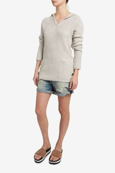 Christopher Fischer Hooded Cashmere Sweater