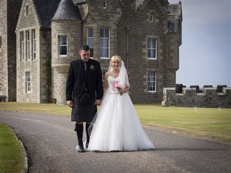 Ackergill Tower Wedding   We Fell In Love   Scotland's