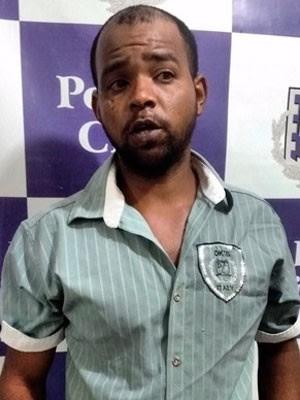 Suspeito de estuprar jovem em Guanambi (Foto: Divulgação/Polícia Civil)