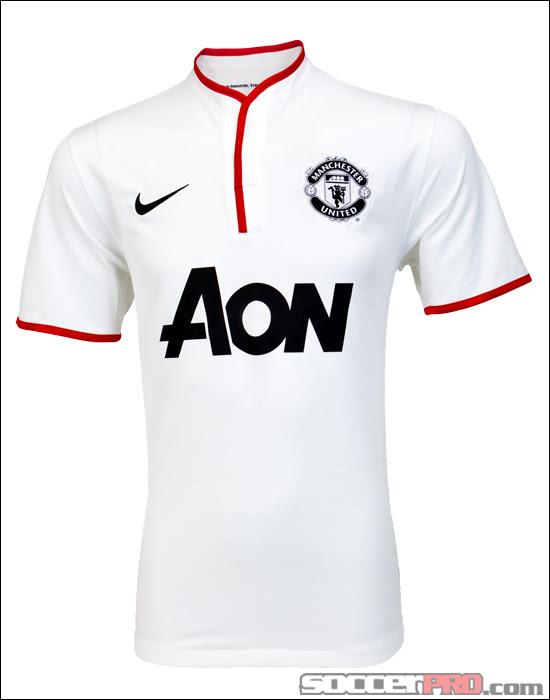Revealed: The Nike 2012-13 Manchester United Away Jersey - SoccerProse.com