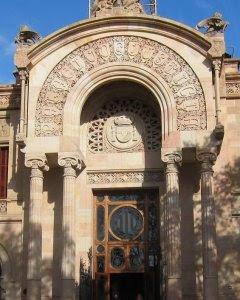 Sede del Tribunal Superior de Justicia de Catalunya. E.P.