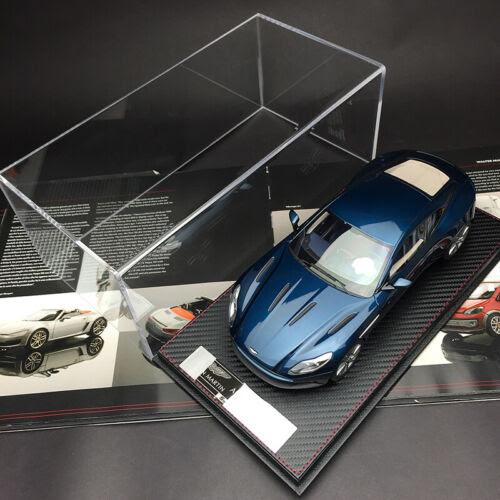 Frontiart Fa 1 18 Aston Martin Db11 Blue Car Model Toy Vehicles Model W Case Car Diecast Toy Vehicles Cars Trucks Vans
