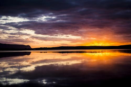 Loch Stenness - Sunset by MJSFerrier