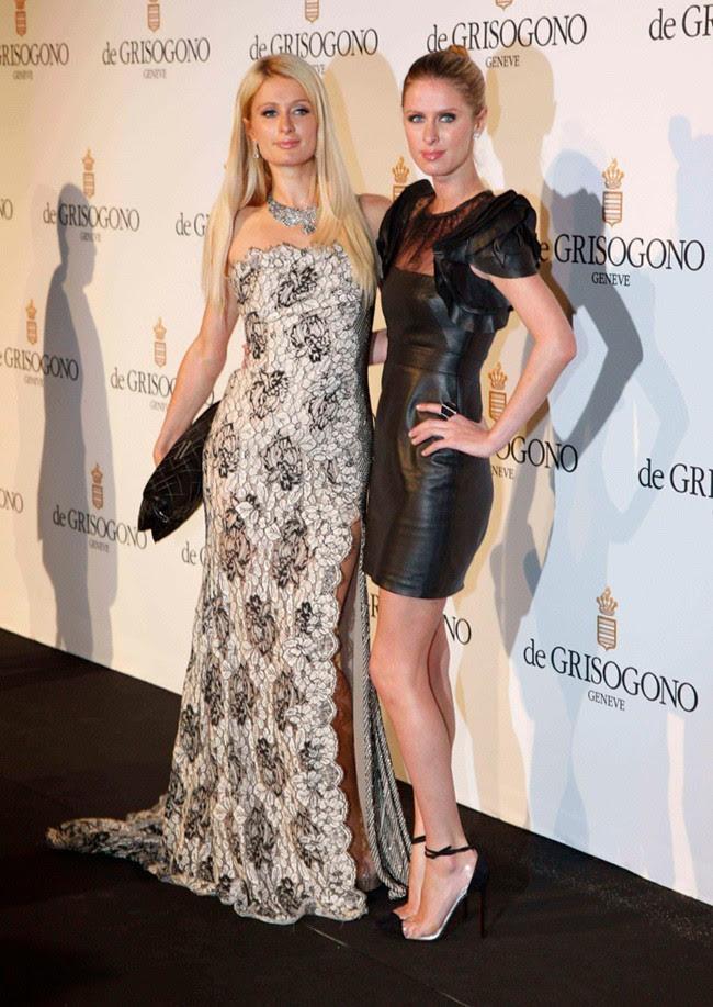 6 - Paris und Nicky Hilton, de GRISOGONO Party, Cannes,23.Mai