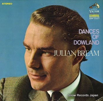 BREAM, JULIAN dances of dowland