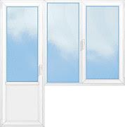 балконный блок со створкой 2100*2100