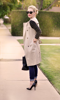 black+pumps-+stripes-+sleeveless+trench