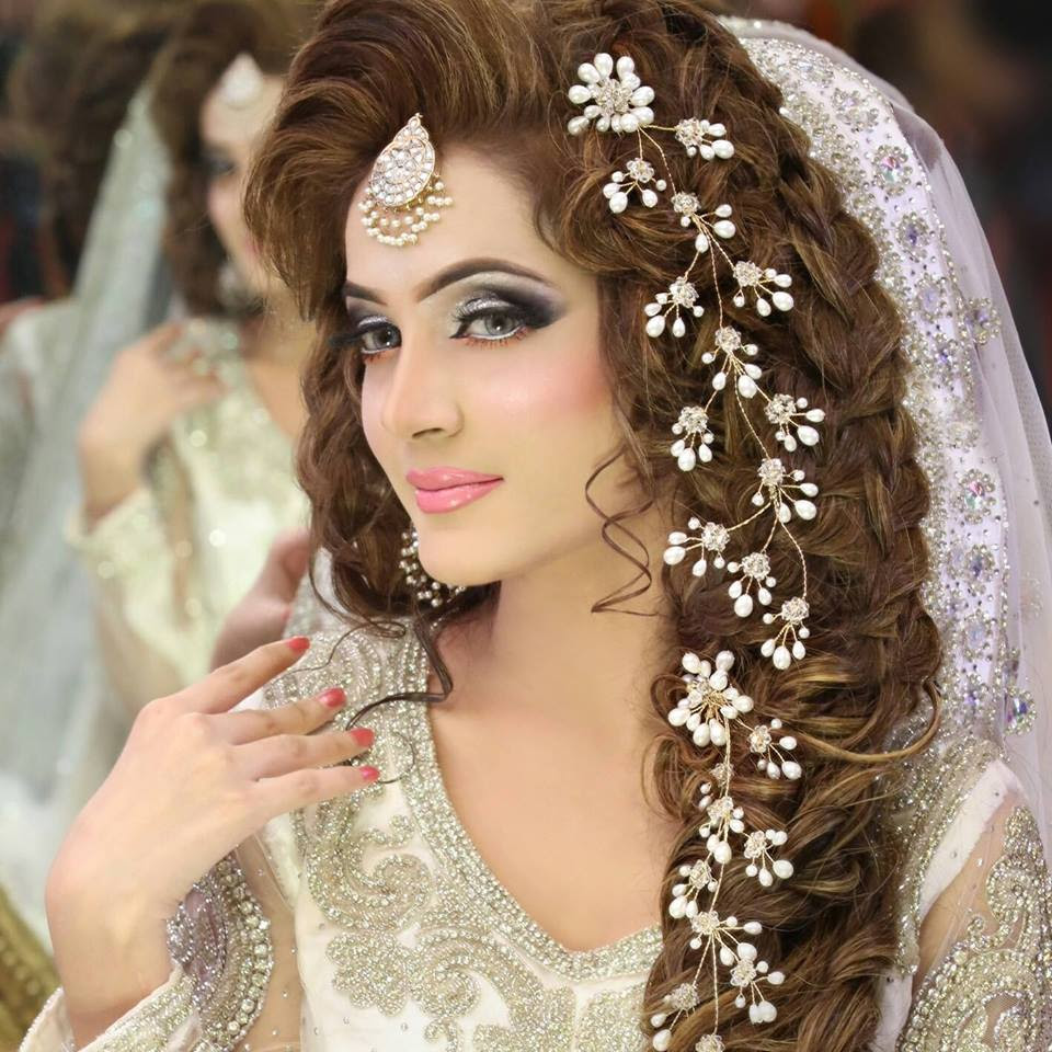 pakistani bridal hairstyle dailymotion - damen hair