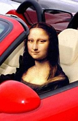 Mona ferrari -- Mona Lisa Parodies #Joconde