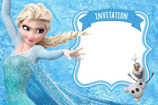 Carte Invitation Anniversaire Gratuite A Imprimer Reine Des Neiges Wizzyloremaria Official