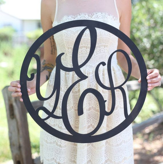 #Mo Sign Monogrammed by sign rustic Hill Designs Rustic designs Morgann Wood
