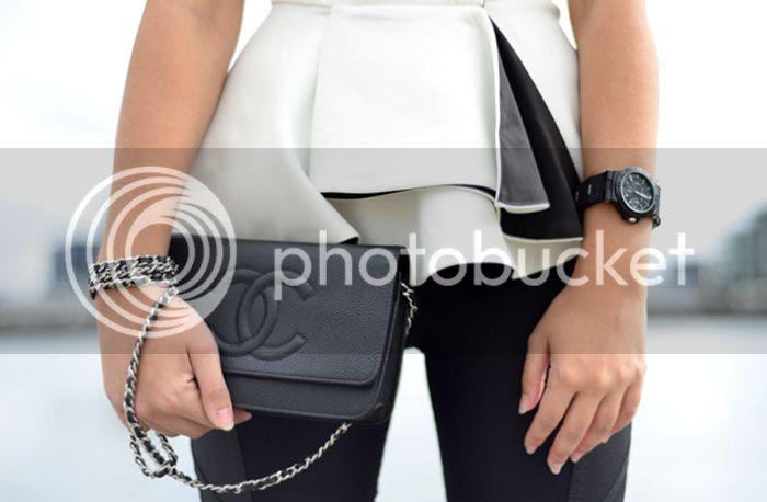 Cameo Peplum, Chanel, Bvlgari on Friend in Fashion