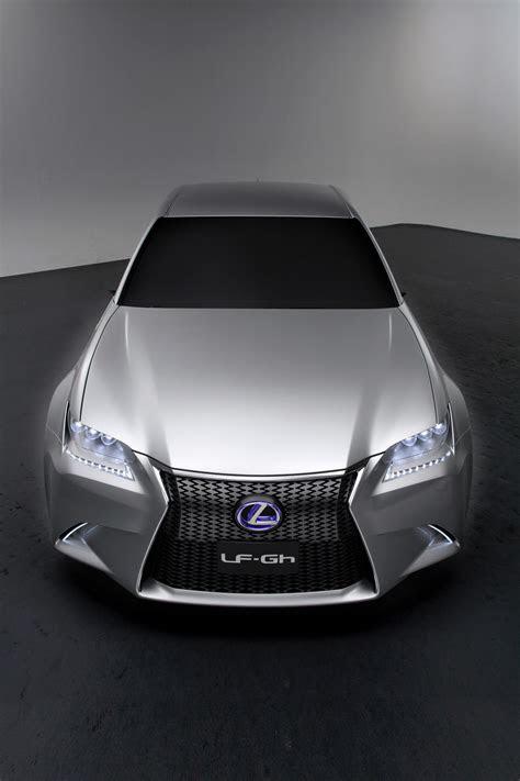 lexus cars news lf gh hybrid concept official