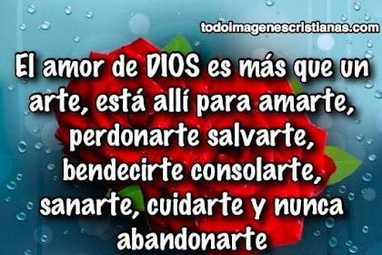 Frases De Amor De Dios