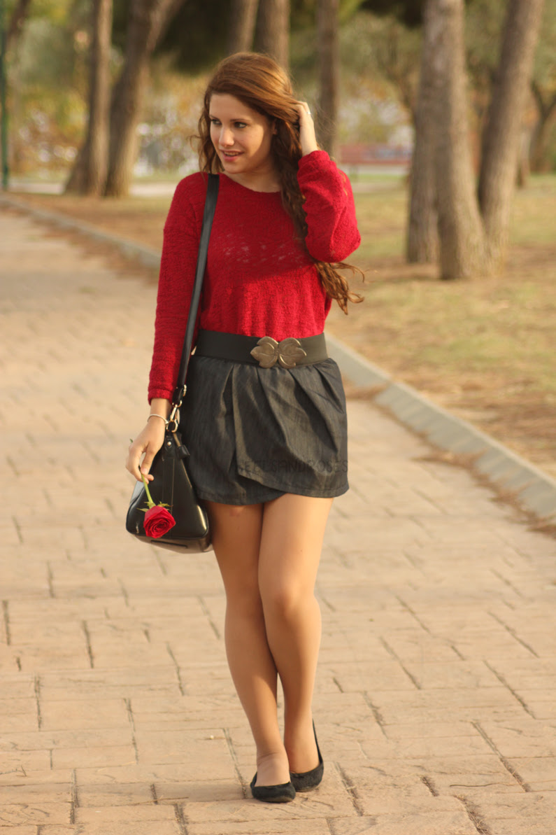 HeelsandRoses-jersey-burgundy-con-falda-vaquera-(2)