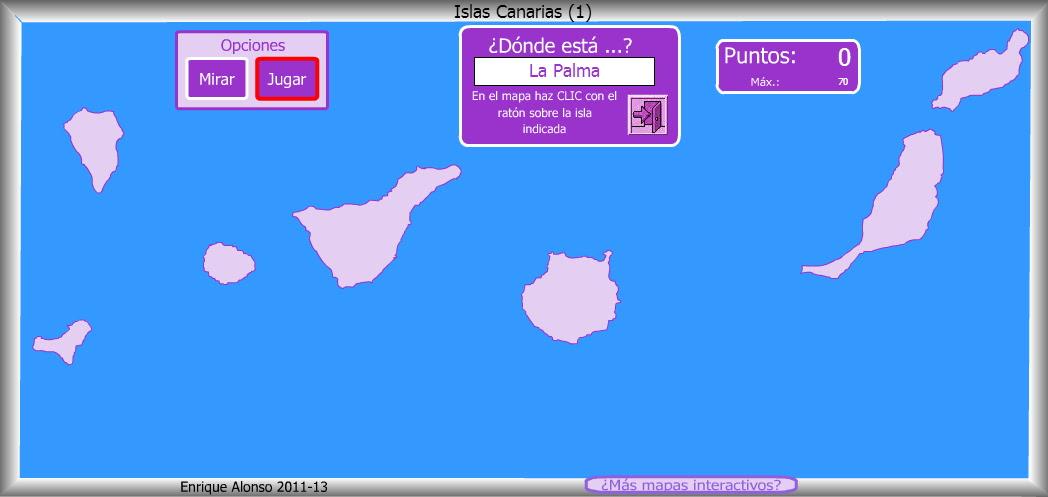 Islas Canarias. ¿Dónde está?