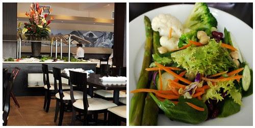churrasco salad and bar