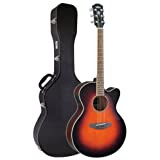 Yamaha CPX500 Cutaway Acoustic-Electric Guitar - Old Violin Sunburst (Open Box)