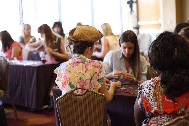 TxSC Texas Style Council 2013 in Austin Texas - Making jewelry