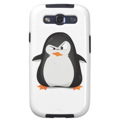Angry Penguin Galaxy SIII Covers