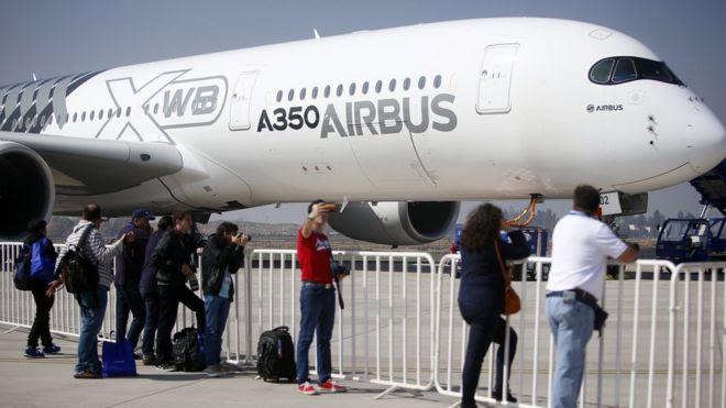 Airbus A350 Courtesy Mario Ruiz