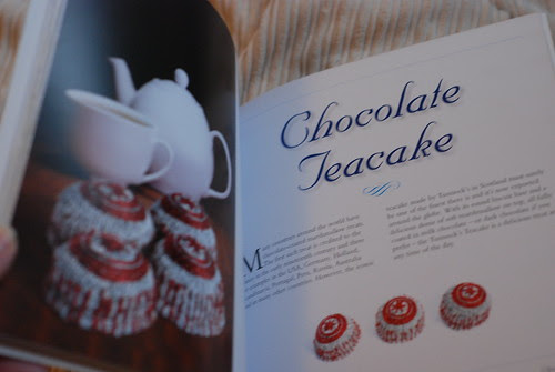 Knit Your Own Scotland - knitted Tunnock's Teacakes pattern book