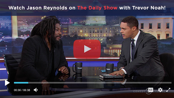 Watch Jason Reynolds on The Daily Show with Trevor Noah!
