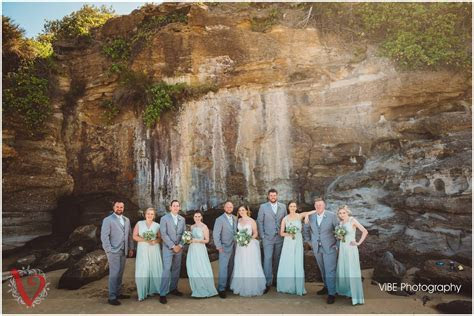 Caves Beach Wedding Photography   VIBE Photography