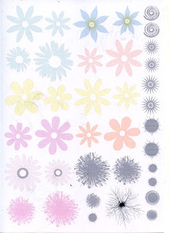 3D Flower Making transparency - Click Image to Close