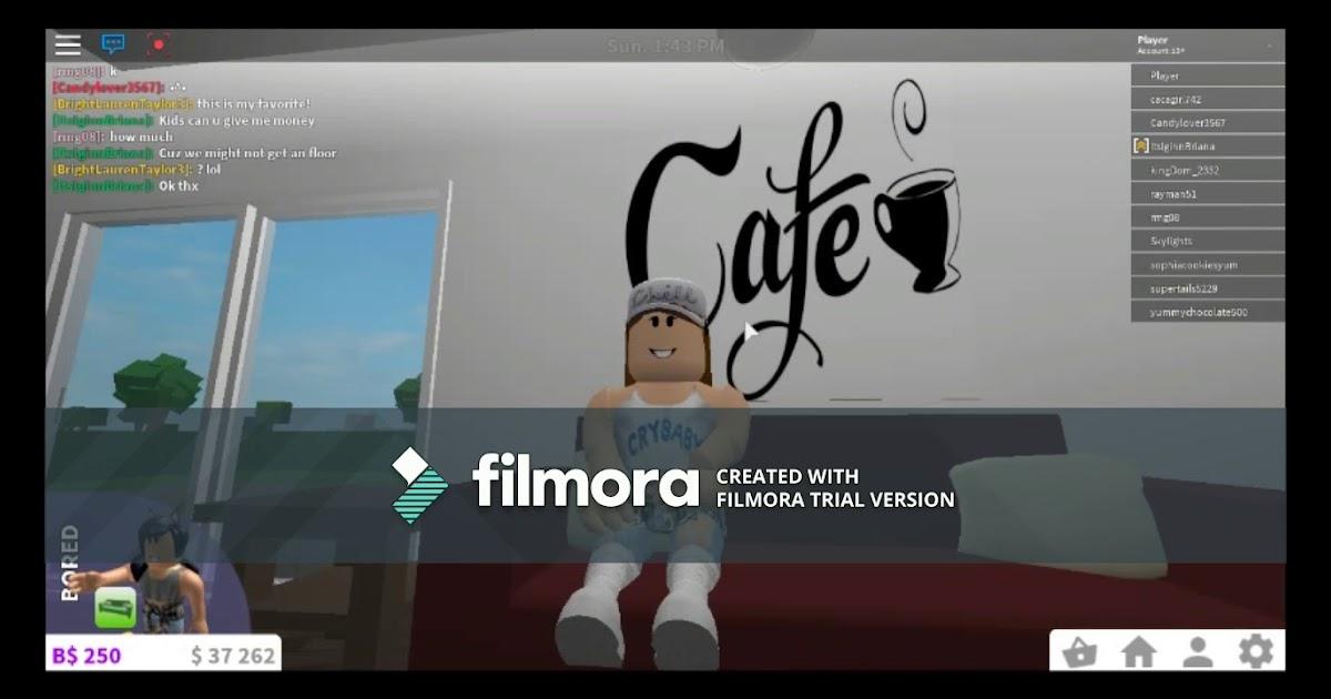 Cafe Roblox Bloxburg Id Youtube
