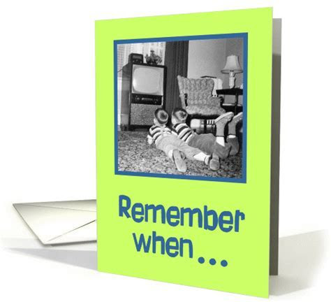 Remember When  card (84672)