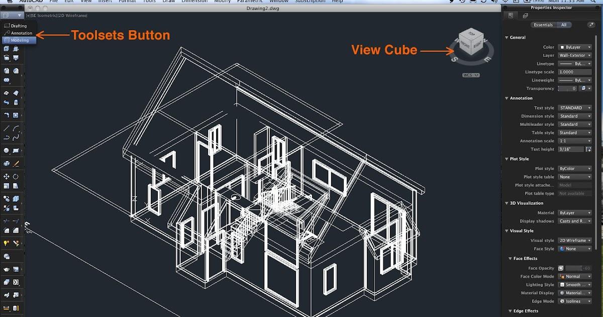 Gambar Software Desain Rumah Autocad