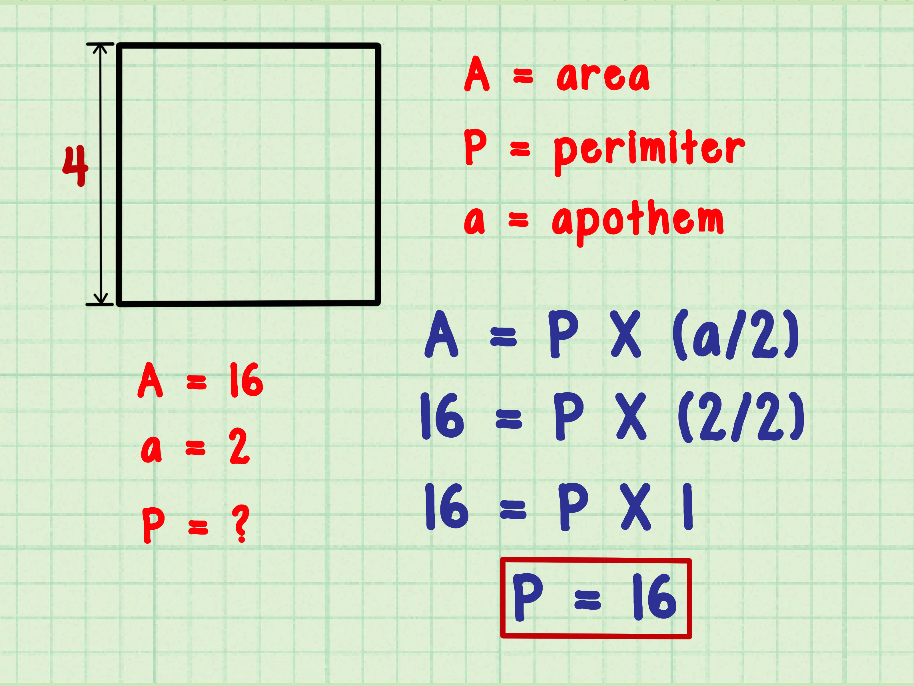 Find the Perimeter of a Polygon Step 4