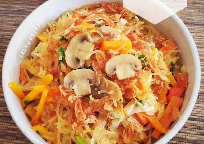Resep Praktis Mi goreng bihun sayuran Gampang Banget