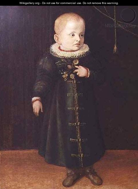 Portrait of a child - Sofonisba Anguissola