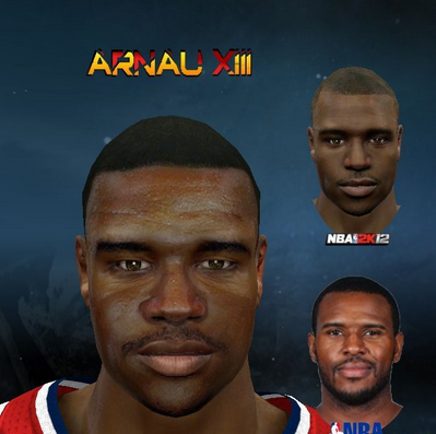 Download NBA 2K12 Trevor Booker Cyberface Patch PC