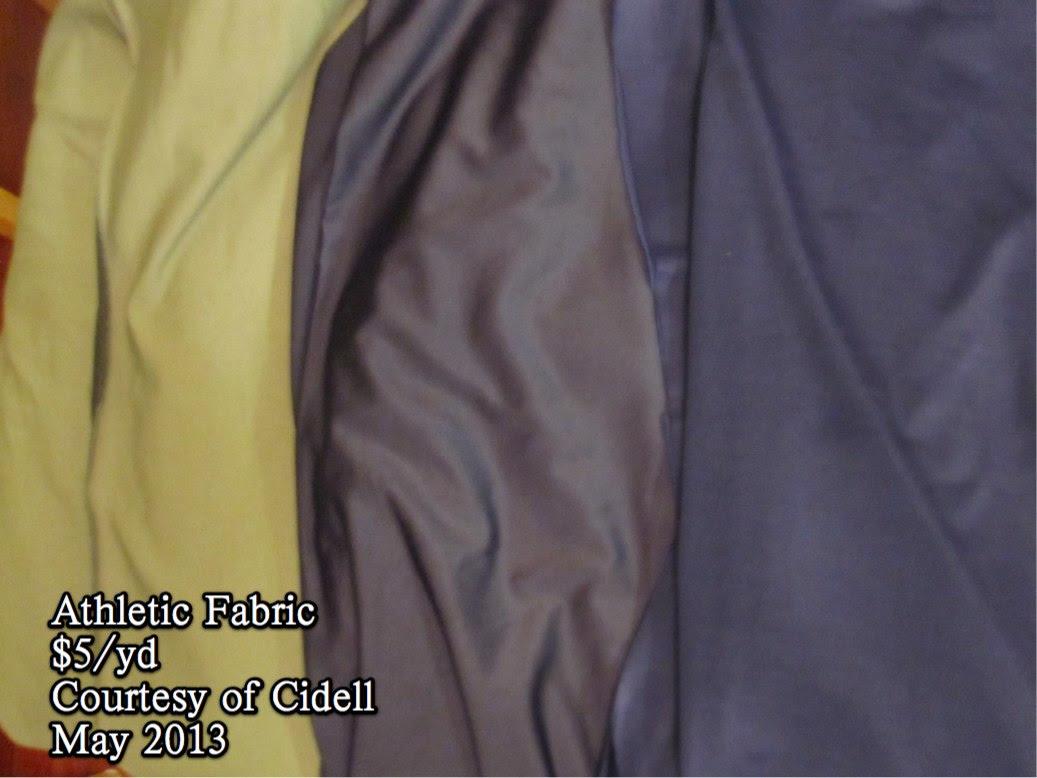 Athletic Fabric 05-2013
