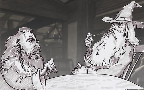 Scamp_Thorin&Gandalf-01 by andrewbentos
