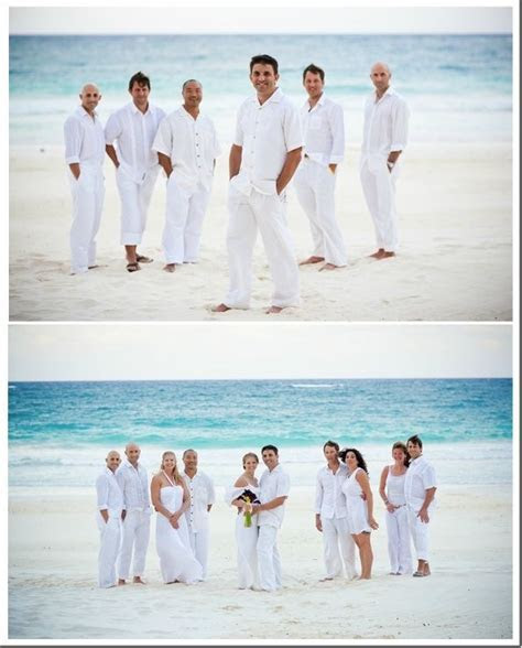 Mens Beach Wedding Attire Ideas Black is not so suitable