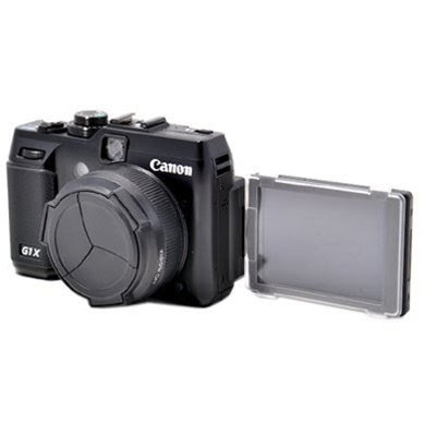 CowboyStudio ALCG1X Camera Auto Lens Cap Cover \/ Lens Hood for Canon PowerShot G1X Apparel