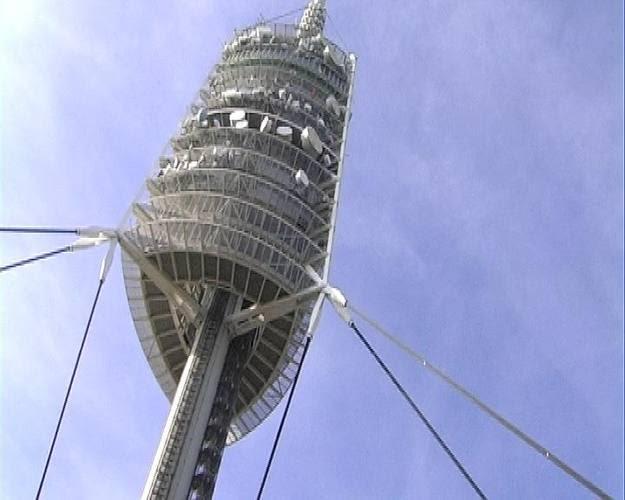 La torre de Collserola, el nuevo emblema de Barcelona