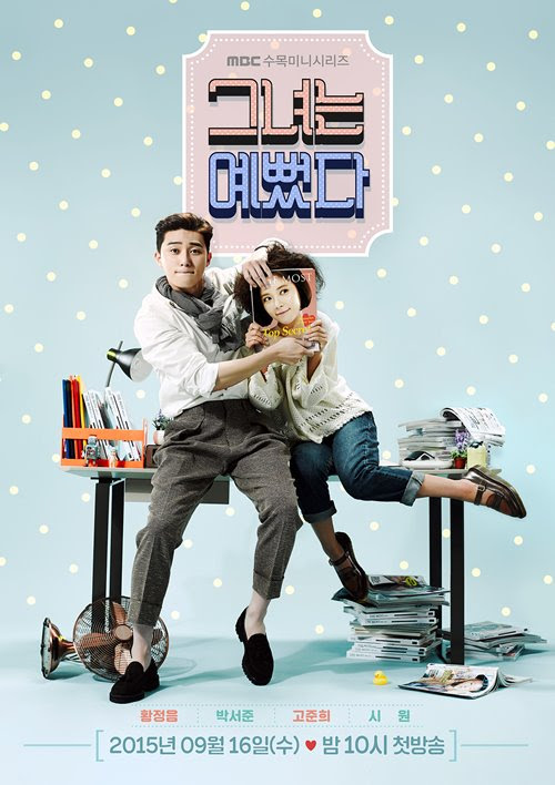 Photos Added new poster for the Korean drama 'She Was ...