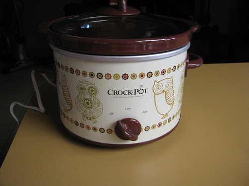 my cute owl crock pot
