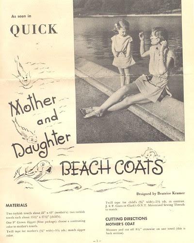 Turkish Towel Beach Coats