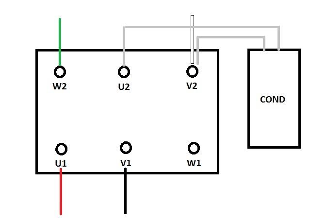 Schema Elettrico Motore Lavatrice 8 Fili : Malta per riparazioni collegamento condensatore motore