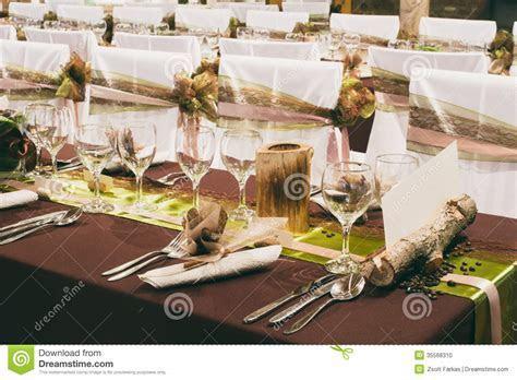 Unique Wedding Table Decorations Stock Photo   Image of