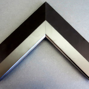 Black And Silver Way Picture Frame Custom Frames