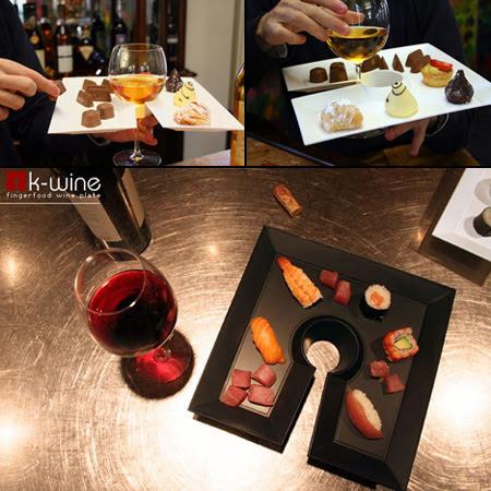 K-wine Food Plates