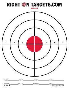 Printable Shooting Targets | DT Sports - Maui Hawaii - Printable ...